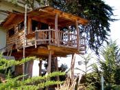 Tree house built for children