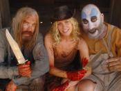 From left to right: Otis B. Driftwood (Bill Moseley), Baby (Sheri Moon-Zombie) and Captain Spaulding (Sid Haig) from The Devil's Rejects.