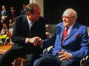Pete Rozelle and George Halas
