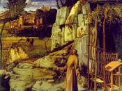 Giovanni Bellini, St. Francis in the Desert, c.1480, Frick Collection, New York City