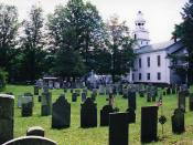 Nathan Perkins grave at Old South Church