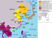 English: Greater East Asia Co-Prosperity Sphere map