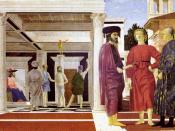 Piero della Francesca, The Flagellation of Christ