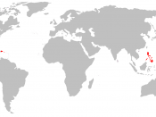 English: A map of the former territories of the Viceroyalty of New Spain.