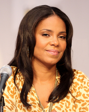 English: Sanaa Lathan at the 2010 Comic Con in San Diego.
