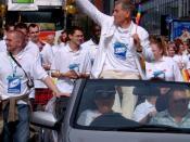 Sir Ian McKellen at Europride 2003 Parade
