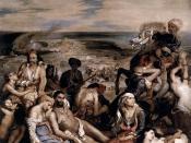 Le Massacre de Scio, held at the Louvre, Paris