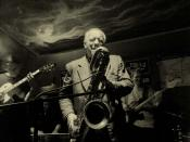 Waldemar Kurpiński & Tress Jazz band in Tygmont Club, Warsaw, Poland
