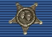English: Border Patrol Newton/Azrak Ribbon