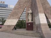 Tangshan earthquake memorial