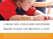 2nd draft: A state-funded Montessori primary school for Brighton & Hove