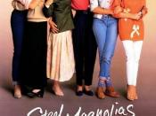 Film poster for Steel Magnolias - Copyright 1989, TriStar Pictures