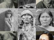 English: Collage of public domain images of Hopi.