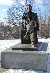 English: Lester Pearson statue, Parliament Hill, Ottawa, Ontario, Canada