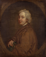 John Dryden, by Sir Godfrey Kneller, Bt (died 1723). See source website for additional information. This set of images was gathered by User:Dcoetzee from the National Portrait Gallery, London website using a special tool. All images in this batch have bee