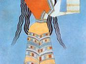 Mycenaean Woman (Fresco)