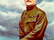 General John Pershing wearing his four gold stars