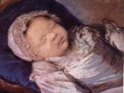 Sophie Hélène Béatrice de France, Mademoiselle Sophie, by Élisabeth Vigée-Lebrun (1786).