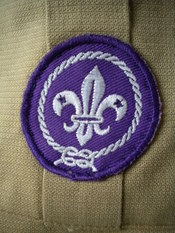 English: Scout emblem on a Scout uniform
