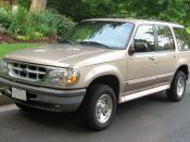 1995-1998 Ford Explorer photographed in USA. Category:Ford Explorer (second generation)