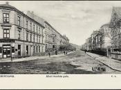 Eilert Sundets gate, Christiania, ca 1904