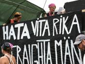 Radical feminists poster: