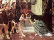 Proclaiming Claudius Emperor by Lawrence Alma-Tadema