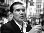 Antonio Banderas at the Shrek the Third London premiere