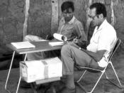 Albert Buckwalter translating, Chaco Argentina