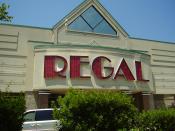 English: A Regal Entertainment theater in Pennsylvania