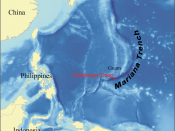 Map showing the location of the Mariana Trench, designed as a replacement for Image:Mariana_trench_location.jpg.
