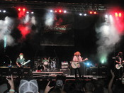 English: Collective Soul performing at the 2010 Rib America Festival at Military Park in Indianapolis, IN on September 5, 2010.