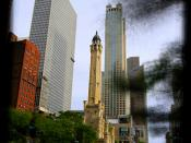 Chicago Water Tower - Morning light