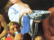 English: Feast_of_the_Gods_Giovanni_Bellini_1514_detail