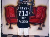 HAWK, back to the camera HAWK back