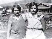 Ruby Bates & Victoria Price in 1931
