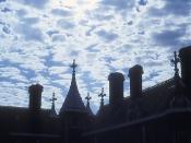 Almshouse sky