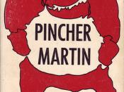10 Barbara Koontz, cover for Pincher Martin by William Golding (mass market pbk, date unknown)