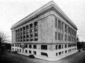 English: The Multnomah County Courthouse in Portland, Oregon, United States.