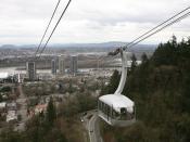 English: The Portland Aerial Tram car