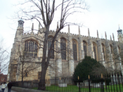chapel of the Eton College, 2004-02-14. Copyright Kaihsu Tai