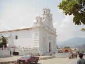 The Church of the town of Rabinal, built in 1572, on the site of Las Casas' earlier settlement.