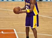 English: Kobe Bryant 61 point game against the New York Knicks