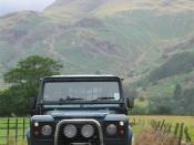English: Land Rover Defender.