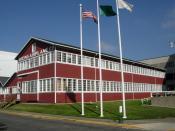 Building No. 105, Boeing Airplane Company, at the Museum of Flight, Tukwila, Washington