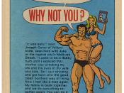 Anti-alcoholism comic book ad