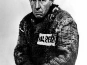 Photo of Aleksandr Solzhenitsyn in 1953, right after his release from the special Gulag camp at Ekibastuz (reference= The Gulag Archipelago, Part 3, photo/caption - pg 174-175, Perennial Library, 1976)