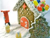 Gingerbread house by Andrew Kelsall.