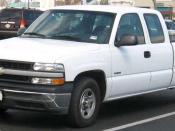 1999-2002 Chevrolet Silverado photographed in USA. Category:Chevrolet Silverado