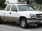 2003-2005 Chevrolet Silverado photographed in Fulton, Maryland, USA. Category:Chevrolet Silverado